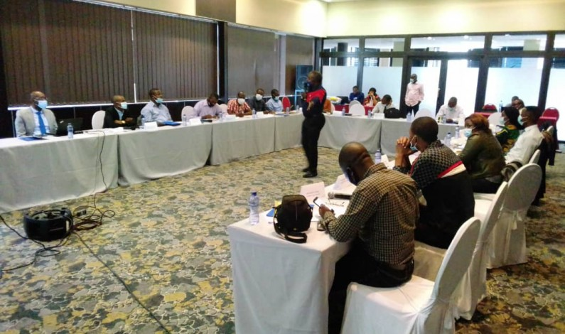 Cecile Rebecca Méta coordonnatrice de l'APLTP aux journalistes :»Vous êtes des acteurs majeurs de la prévention des actes de traite en RDC »