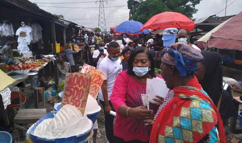 RDC: filles et femmes satisfaites de la campagne de Congolabel sur le 122 et 495555, numéros pour dénoncer les violences