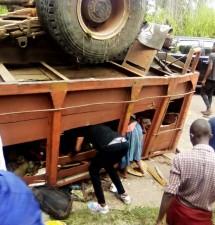 Accident de la route à Boko Kukutuna:des Kimbanguistes décèdent