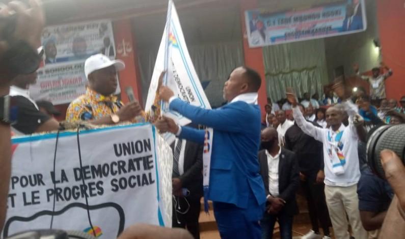 """"""" Il n'y aura pas glissement,il y aura élections et nous les gagnerons """": Augustin Kabuya à l'investiture du comité fédéral de l'UDPS Kongo central 2"""