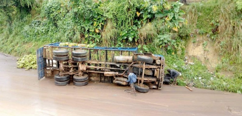 Mbanza-Ngungu : une personne écrasée