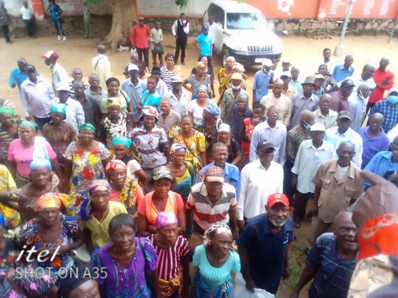 Ras-le-bol des retraités de Boma à cause du retard de paiement de leur pension