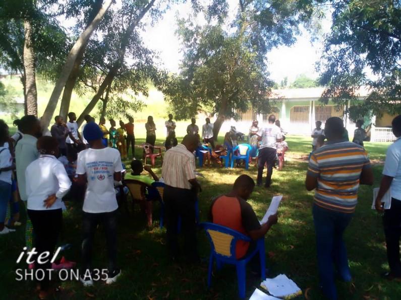Au Kongo central, 60% des jeunes atteints du VIH/Sida parmi ceux testés : des jeunes formés pour renverser la tendance