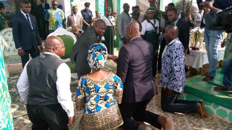"A Nkamba, Edingwe reconnait la ""divinité"" de Simon Kimbangu"