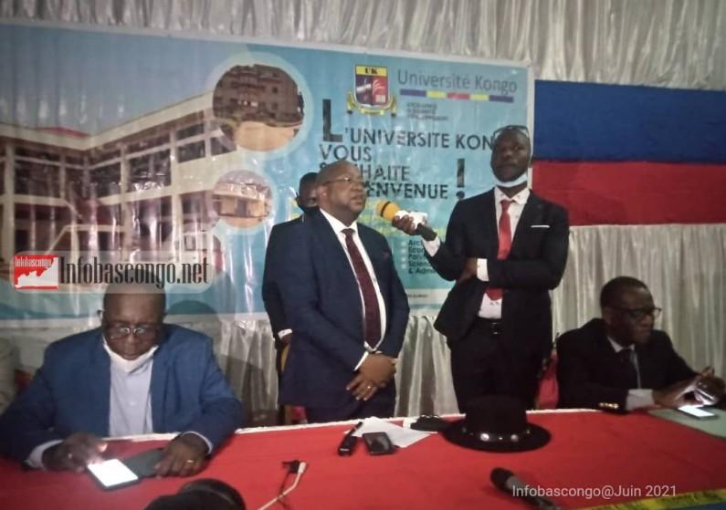 RDC: l'UK honore Albert-Fabrice Puela, le premier ancien étudiant de son université devenu ministre national