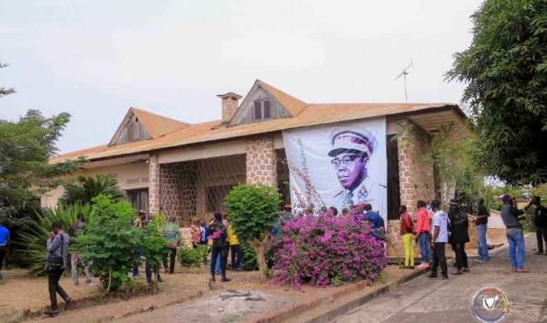 Hortensia, la résidence de feu Joseph Kasa-Vubu, à Boma que le ministre  Modero Nsimba veut touristique