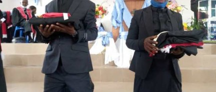 A la CBFC ville francophone de Mbanza-Ngungu : des fidèles heureux de la consécration des pasteurs Joséphine Nsimba et Simon Bruno Malueki