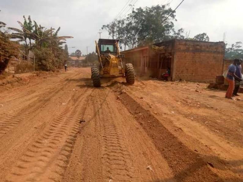 Mbanza-Ngungu : les habitants contents des travaux de réhabilitation de la route Nsona-Nkulu