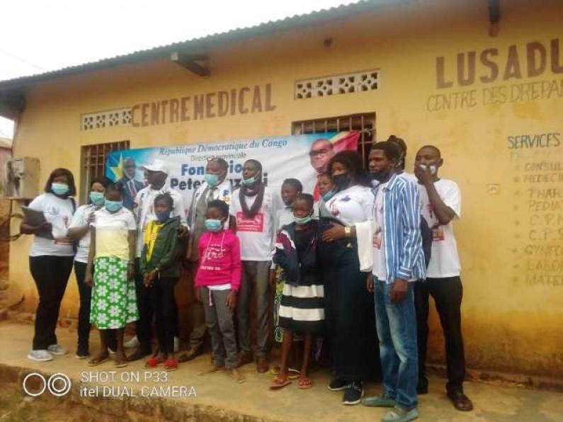 Boma : appui financier de la Fondation Peter Kazadi  aux drépanocytaires du centre Lusadusu