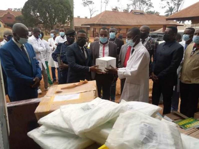 Kongo central : du matériel pour la prise en charge des patients atteints de la Covid-19