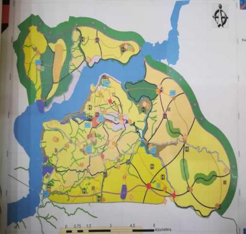 L'avant-projet du PUR présente  Matadi doté d'espaces verts et d'un système de drainage des eaux usées