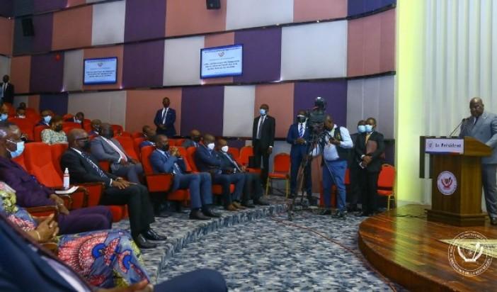Pour la 2ème fois, Félix Tshisekedi promet d'évaluer les actions des gouvernements provinciaux