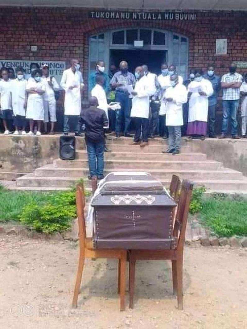 Dr Jacques Courtejoie inhumé à Kangu