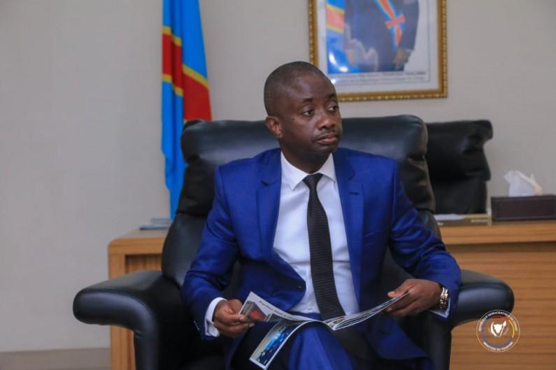 Modero Nsimba chez Jean-Marc Kabund pour parler des œuvres d'arts de la RDC spoliées à restituer par la Belgique
