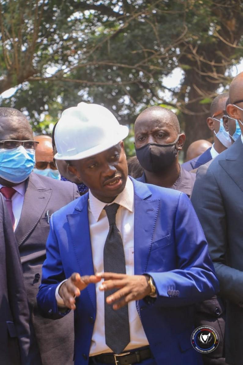 """RDC : ces chantiers du """"warrior"""" Modero Nsimba, ministre du tourisme"""