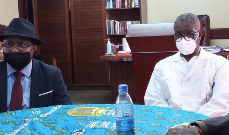 ''Vous êtes une fierté, vous êtes une bénédiction pour la République'' : A Panzi, l'éloge d'Albert-Fabrice Puela au prix Nobel Denis Mukwege