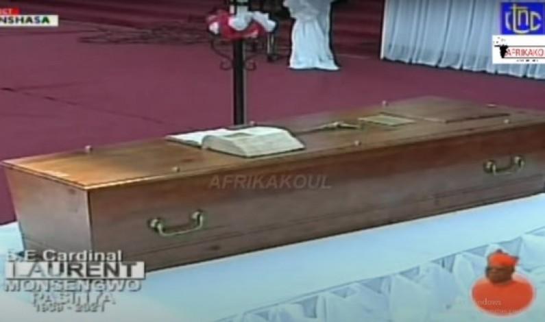 Messe d'hommage au Cardinal Monsengwo : son lourd héritage qu'évoque le Cardinal Ambongo
