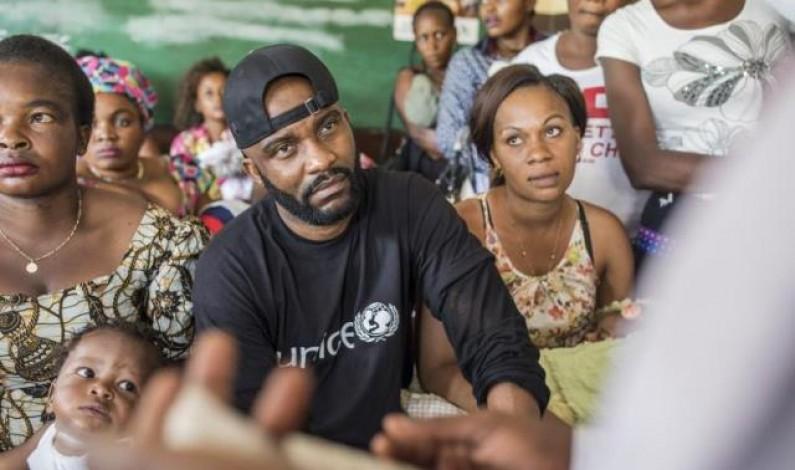 Fally Ipupa, ambassadeur national de l'Unicef en RDC