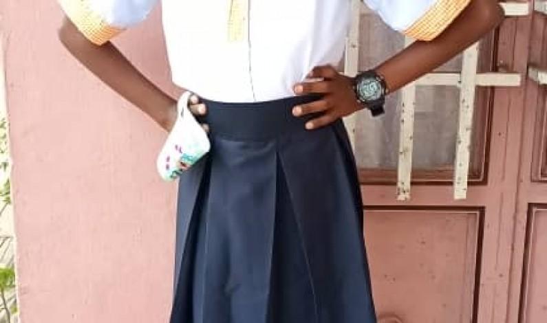 Les ambitions de Kate Mbenza, 10 ans, lauréate nationale au Tenafep, habitante de Muanda, au Kongo central