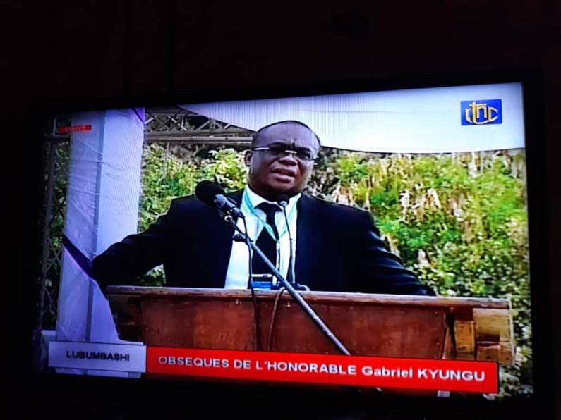 Obsèques de Gabriel Kyungu: l'éloge applaudi et fort de ses enfants prononcé par Me Herve Diakiese