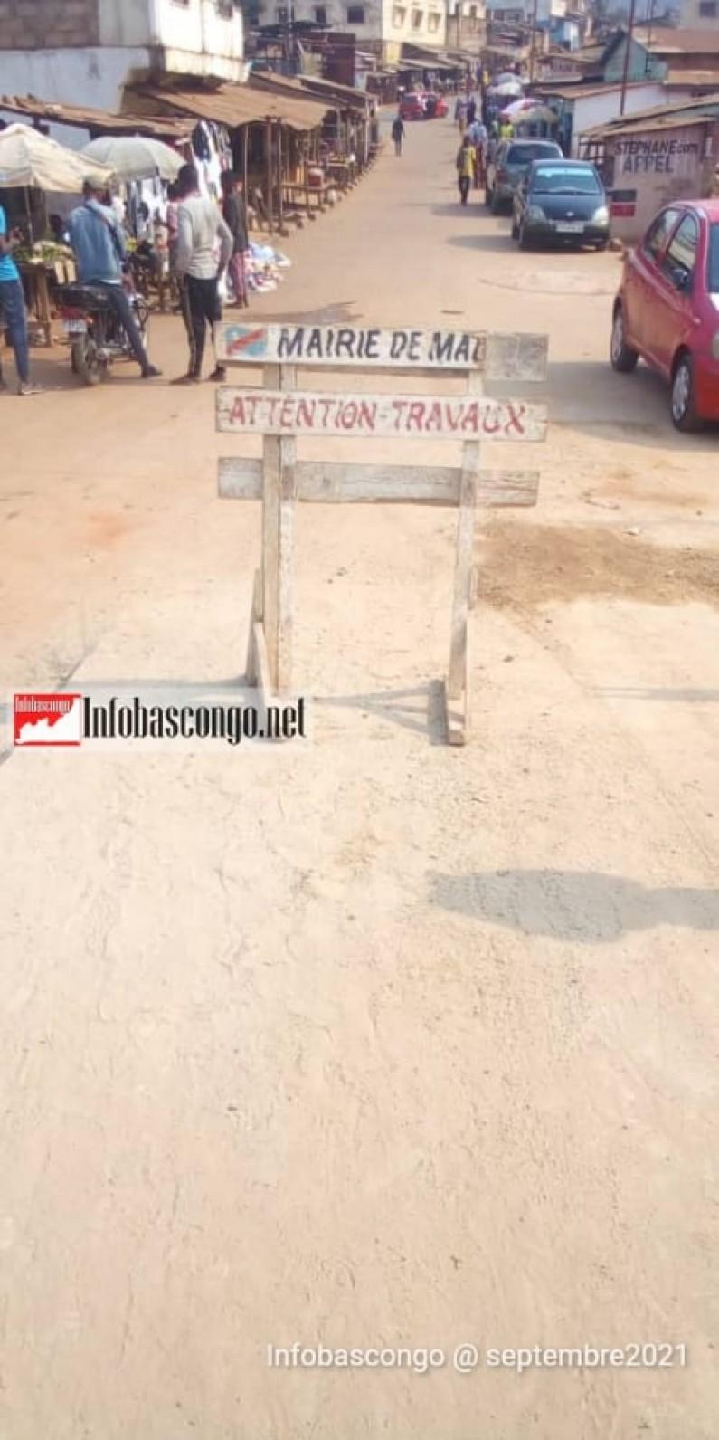 Route Kasu à Matadi: des mains inexpertes à la manoeuvre?