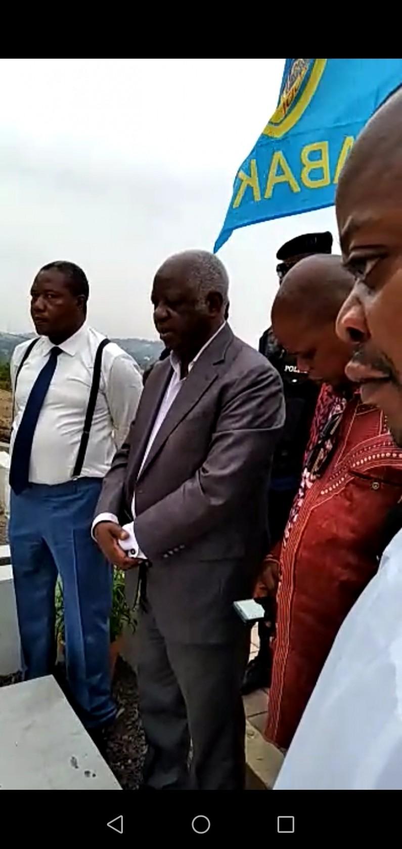 Matusila sur la tombe de Masumbu Baya : ''Aidez-nous à aller jusqu'au bout pour obtenir le changement que nous avons désiré''