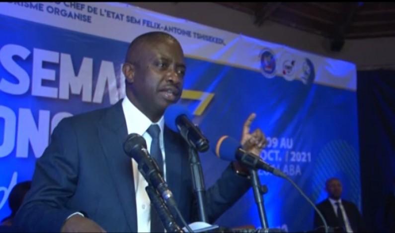 Modero Nsimba, ministre du Tourisme:» Nous assurons actuellement la grandeur du Congo à travers le président Félix Tshisekedi »