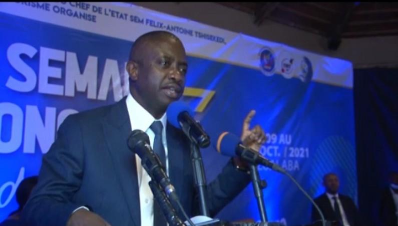 »Je suis le ministre de la publicité du Congo» : Modero Nsimba à l'ouverture de la semaine congolaise du Tourisme au Lualaba