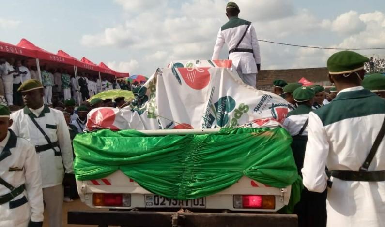 Des vestiges utilisés pour martyriser le prophète Simon Kimbangu présentés à Mbanza-Ngungu