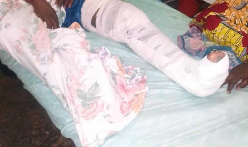 Major Kaniki, le tombeur du présumé meurtrier du cambiste Lifenya abandonné à l'hôpital, à Matadi