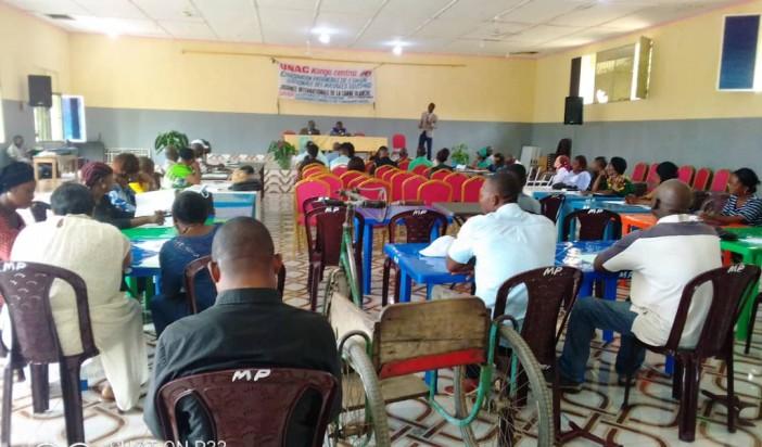 Des revendications à l'atelier sur la convention internationale des droits des personnes handicapées à Boma