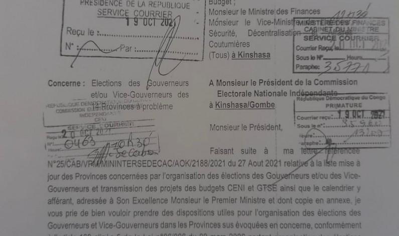 Au Kongo central, bientôt l'élection du gouverneur et vice-gouverneur