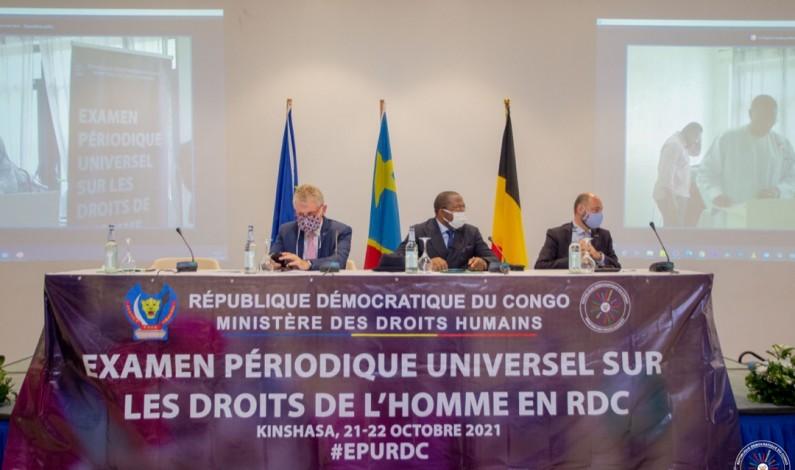En RDC, des avancées sur l'examen périodique universel 3ème cycle